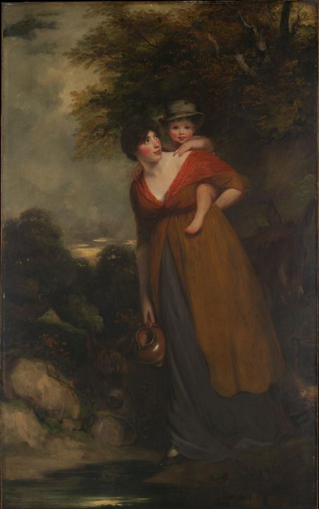 John Hoppner~Mrs. Richard Brinsley S - Artmaster