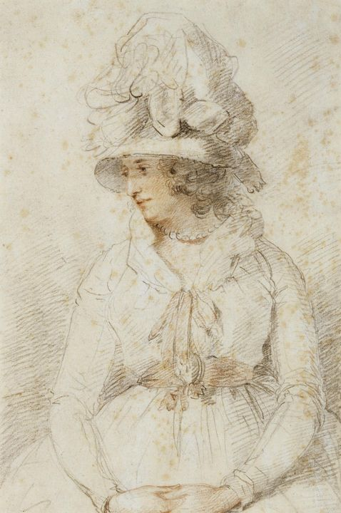 John Hoppner~Portrait of a Lady - Artmaster