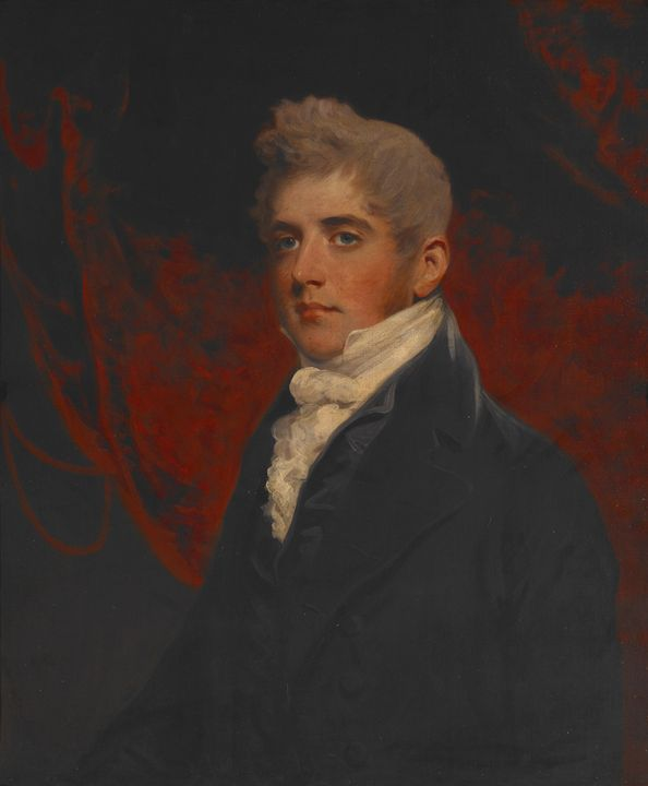 John Hoppner~Portrait of William Ini - Artmaster