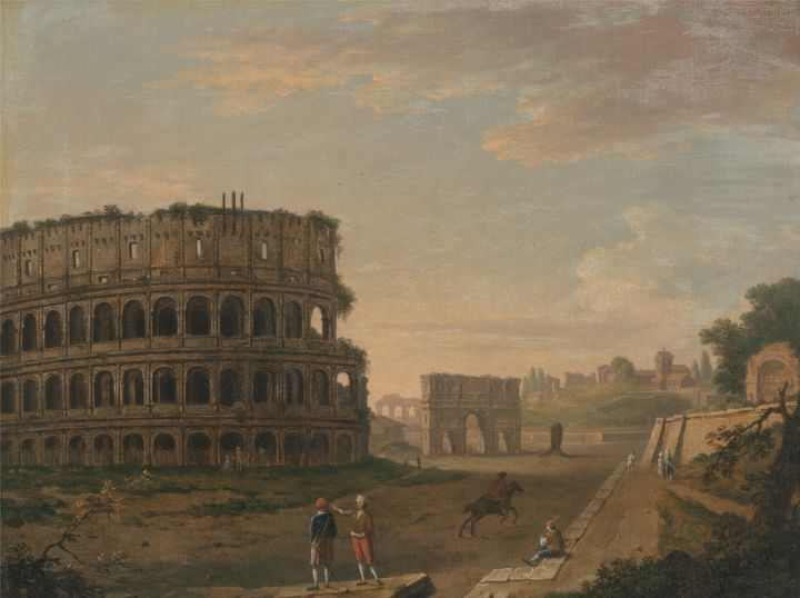 John Ingo Richards~The Colosseum - Artmaster