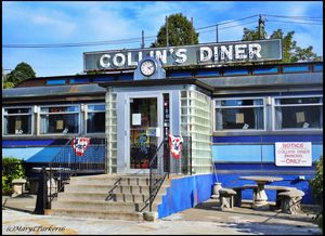 Collin's Diner New Canaan, Conn