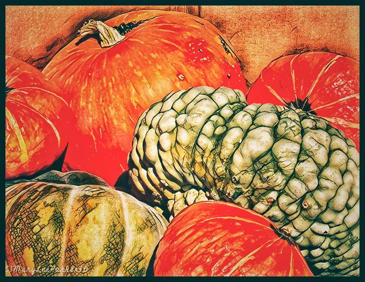 It's Pumpkin Season - MaryLeeParkerArt