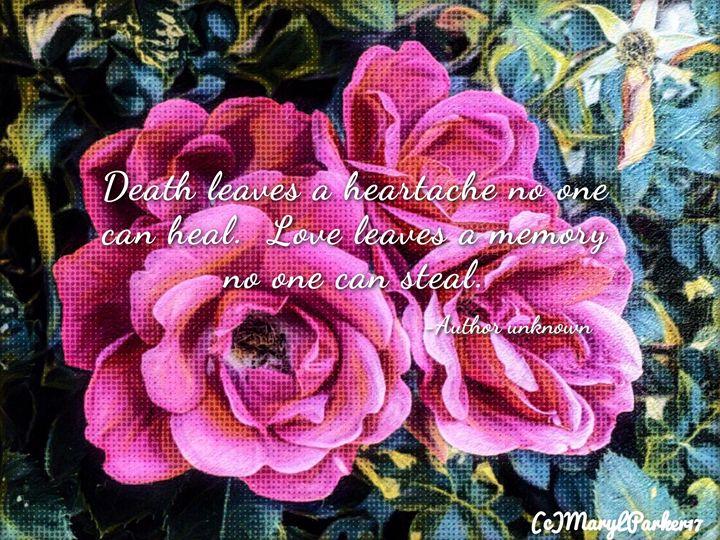 Death Leaves A Heartache - MaryLeeParkerArt