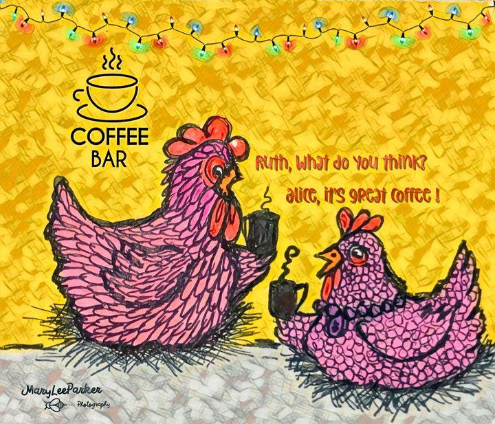 Coffee Time - MaryLeeParkerArt