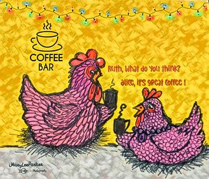 Coffee Time - MaryLeeParkerArt