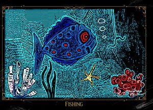 Going Fishing - MaryLeeParkerArt