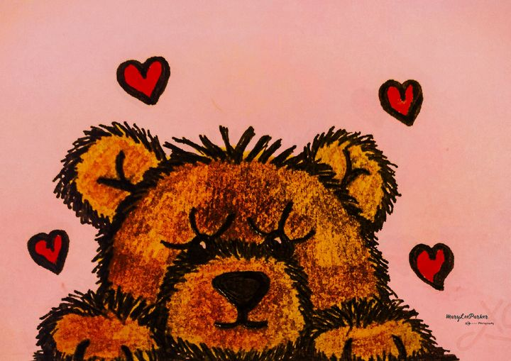 My Teddy Bear - MaryLeeParkerArt