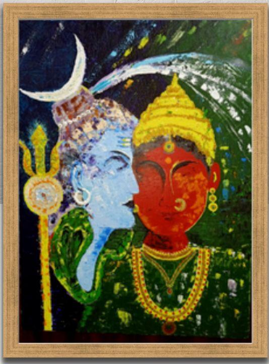 Shiv Parvati - Art Gallery