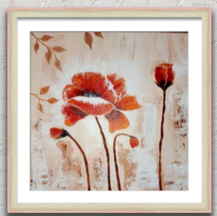 Flower painting - Art Gallery