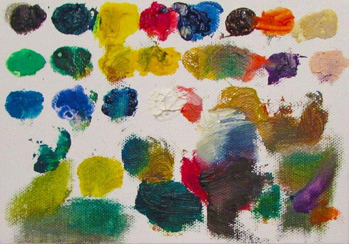 Paint Palette #3 - Lauren pryde