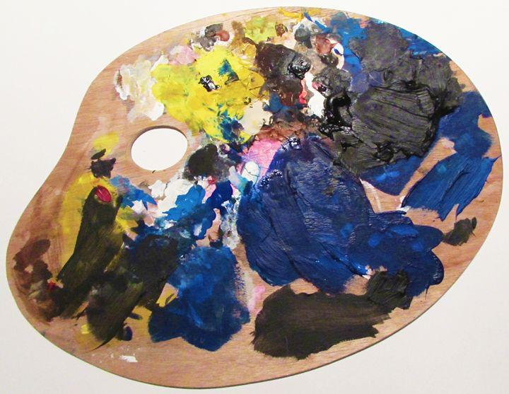 Paint Palette #2 - Lauren pryde