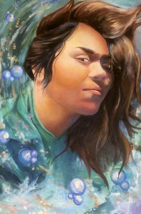 Under the Sea 2.1 - Art by Patricia Moreno