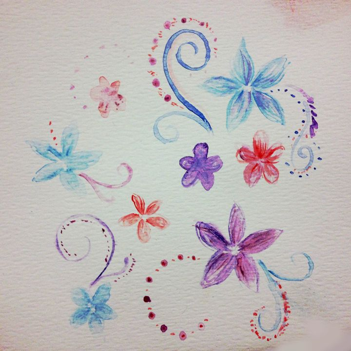 Flowers - Art by Patricia Moreno