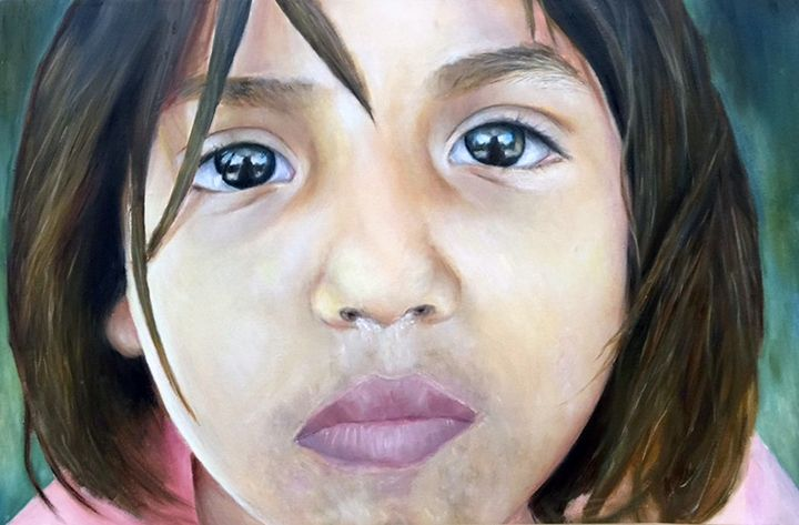Gaze - Art by Patricia Moreno