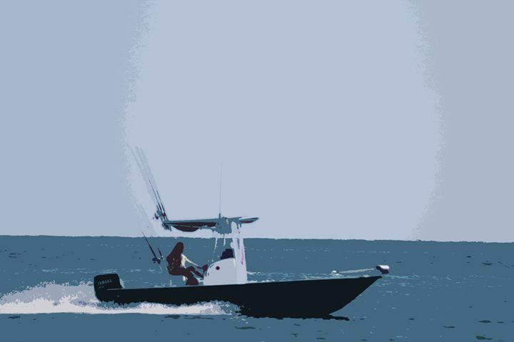 Fishing Boat - Daniel Moore