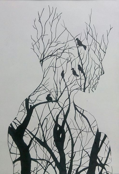 into the woods the soul returns - Saumya Soni