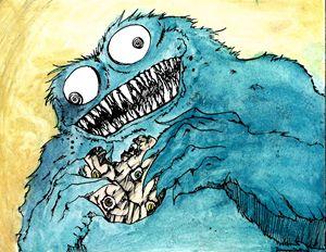 Monster Cookie - Pluto Comics