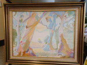 Native Gum Alongside Dry Creek Bed - Diane Markey's Online Art Gallery