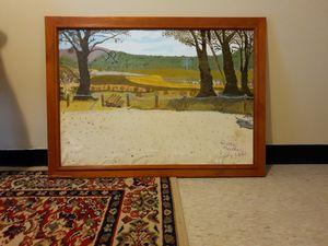 Picnic Area on Copeton Dam Road, NSW - Diane Markey's Online Art Gallery