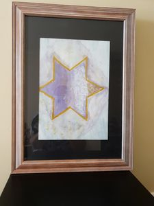 1 of 4 Watercolor Abstract Paintings