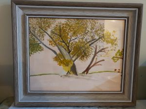 Lone Tree in Spring Time - Diane Markey's Online Art Gallery