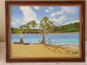 Favorite Beach Near Port Macquarie - Diane Markey's Online Art Gallery