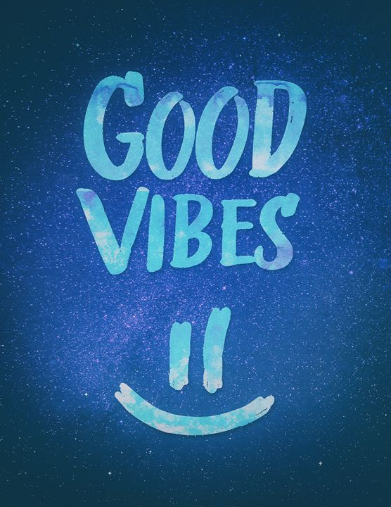 Good Vibes - Funny Smiley Statement - BADBUGS