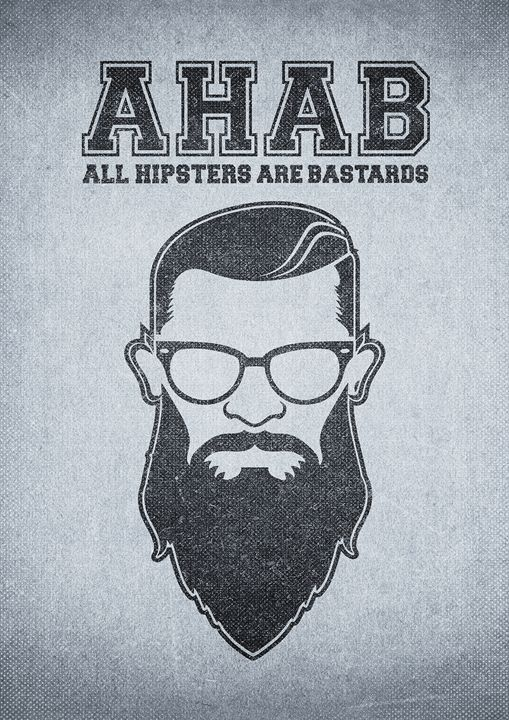 ALL HIPSTERS ARE BASTARDS - Funny - BADBUGS