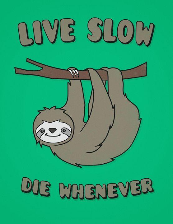 Funny & Cute Sloth - BADBUGS