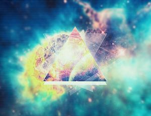 Awsome collosal deep space triangle