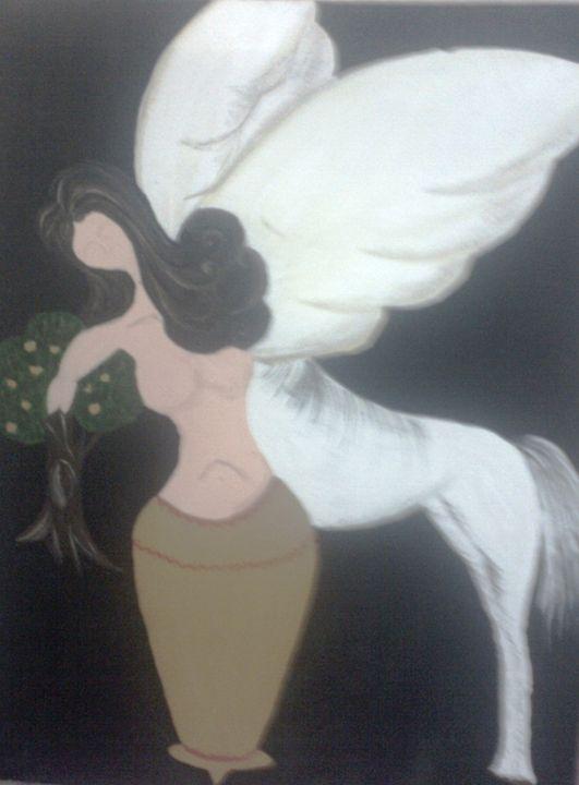 Modern Indian Women - Paintings