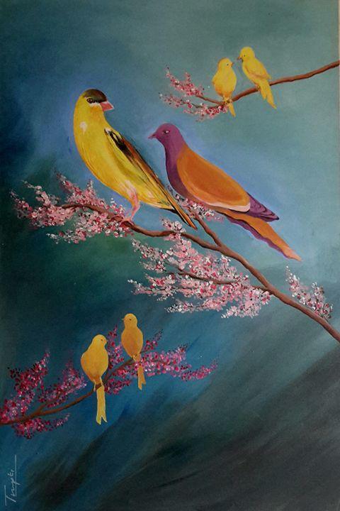 Birds - Trupti