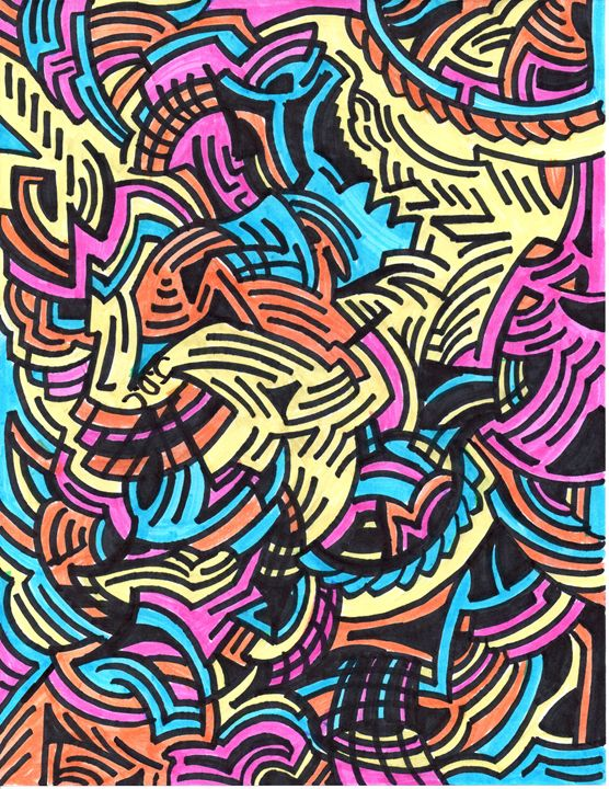 Colorful Abstract - Ozroc Arts (JDC)