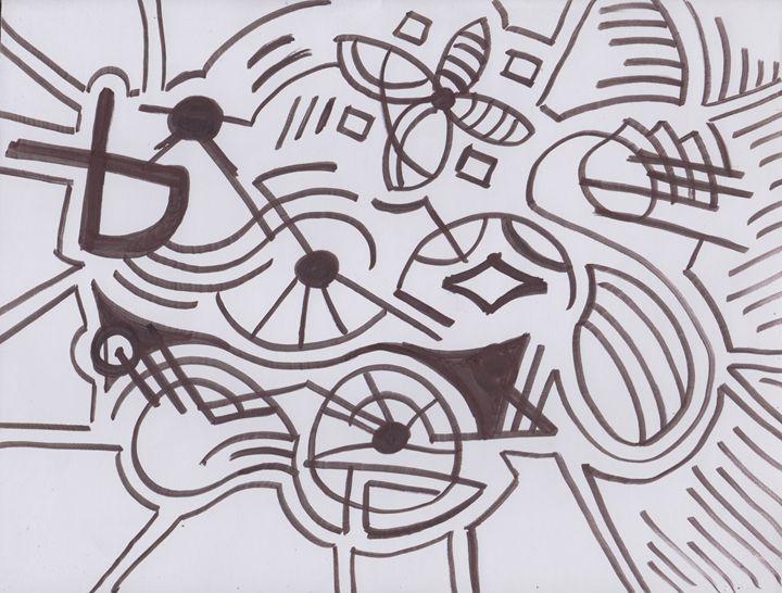 Peaceful Abstract - Ozroc Arts (JDC)