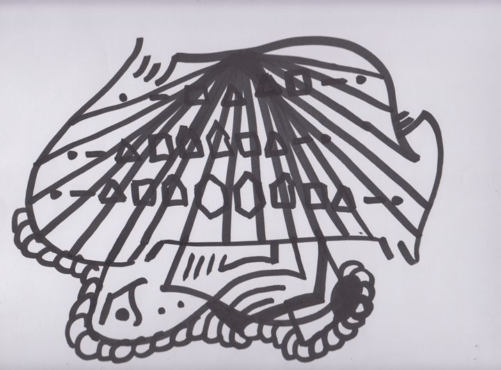 Typewriter Abstract - Ozroc Arts (JDC)