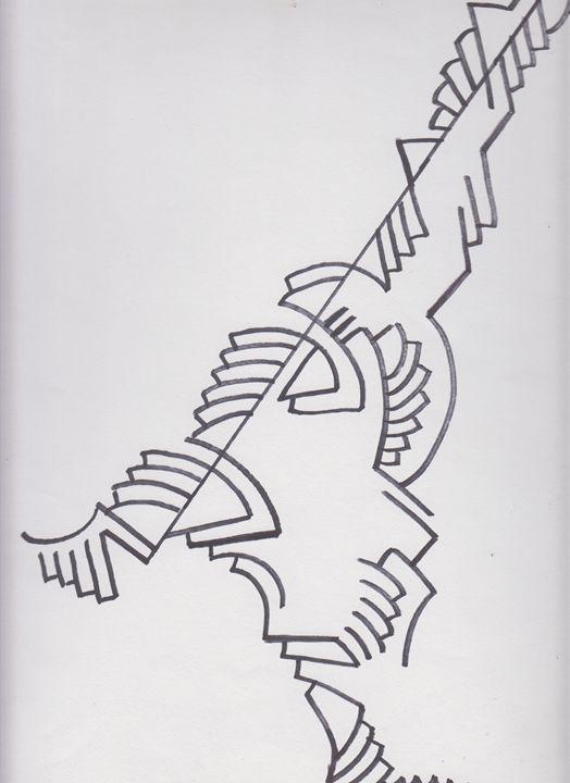 Gun Abstract - Ozroc Arts (JDC)