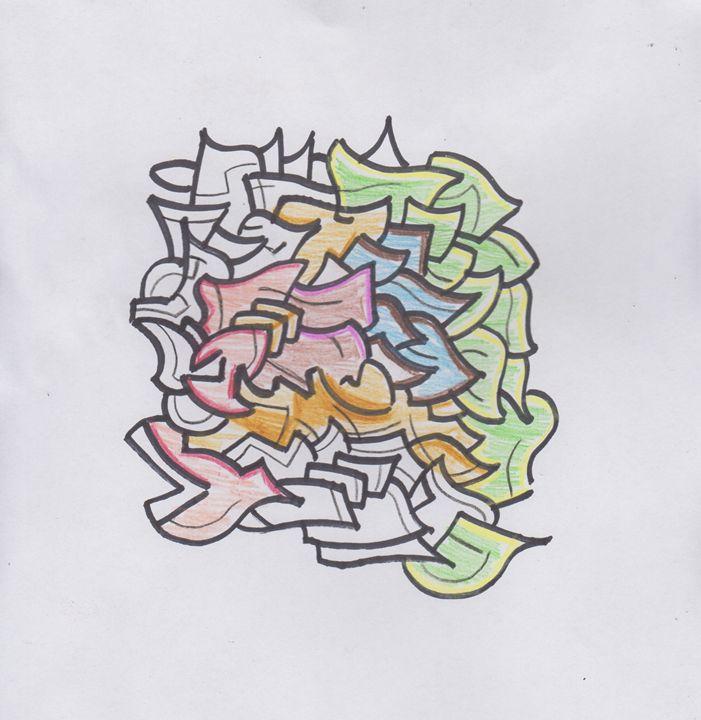 Color 1 Abstract - Ozroc Arts (JDC)
