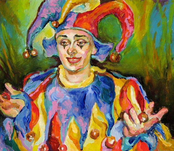 Portrait of the Clown - Luda Angel