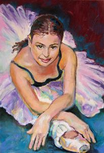 Young Ballerina - Luda Angel