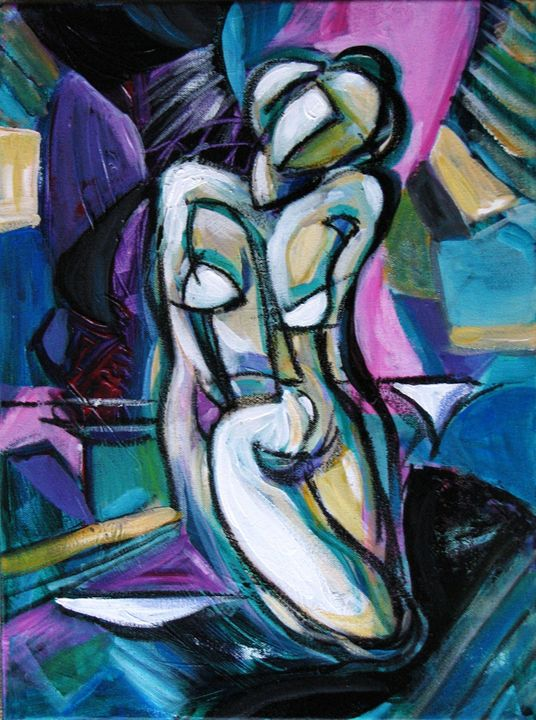 Figurative Abstraction - Luda Angel