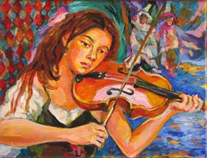 The Violinist - Luda Angel