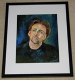 Portrait of Actor original/ framed