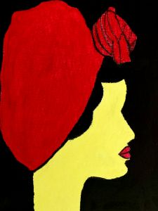 Lady with the red hat - Roxart