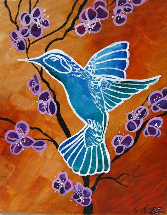 Crystal Hummingbird - SaenzArt