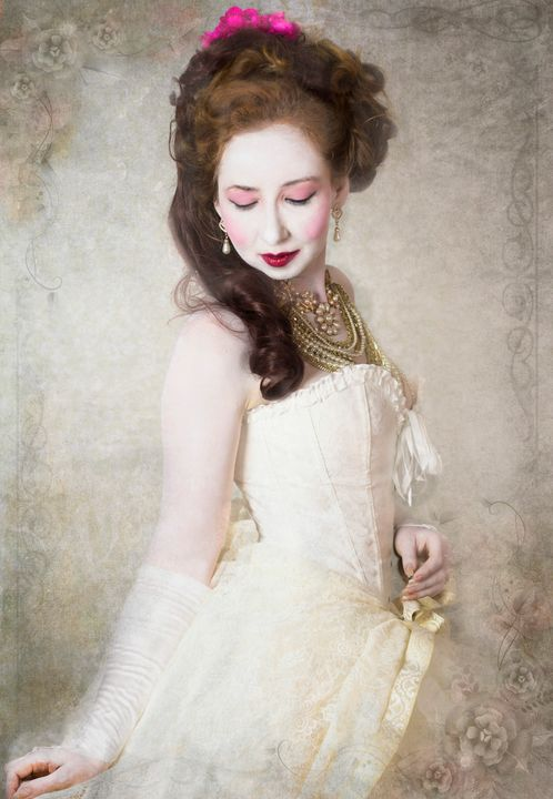 Victorian Portrait - Allie Serrano Portraits