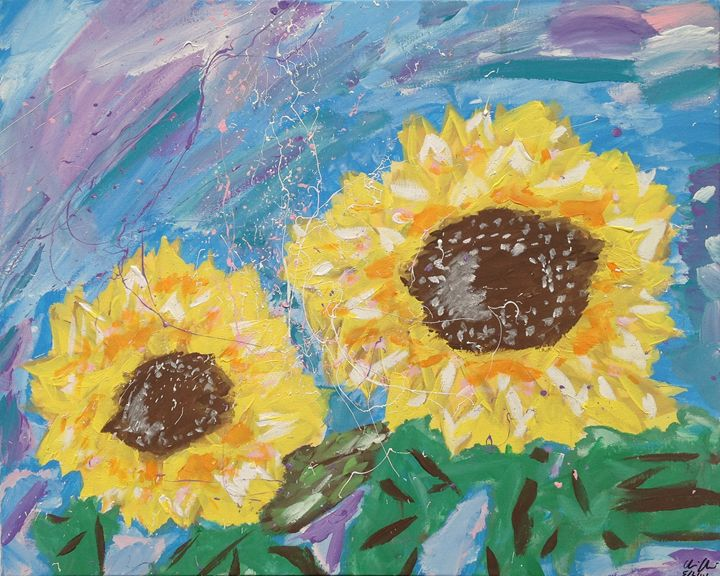 Sunflowers - Christopher Chavoustie