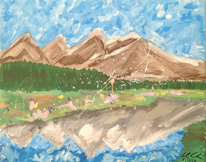 Mountains 1 - Christopher Chavoustie