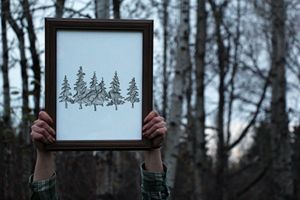 Wander in the Woods Print - 11x14