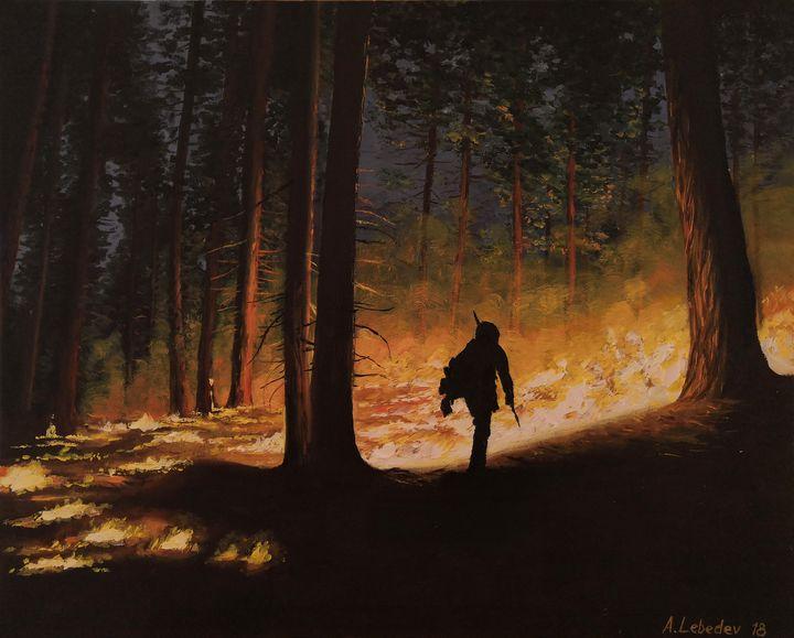 California - Anthony Lebedev