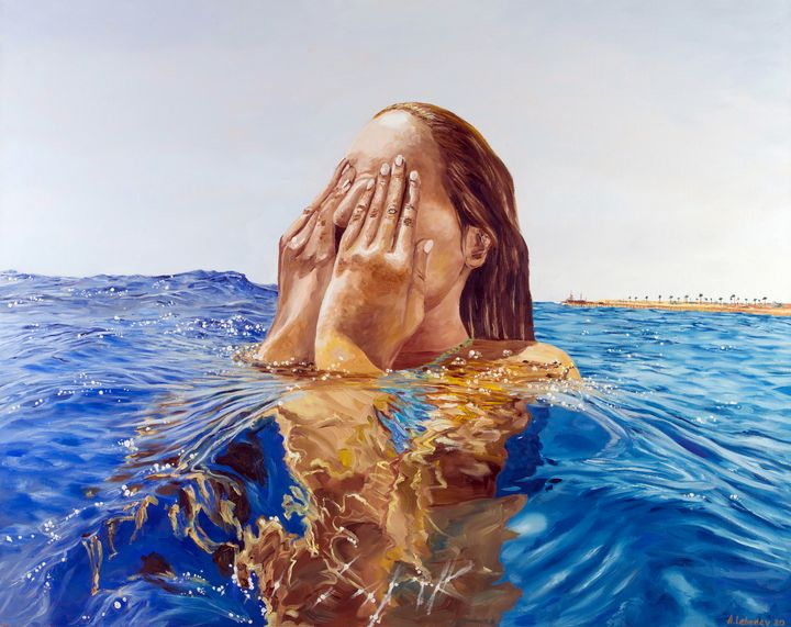 Out of the water - Anthony Lebedev